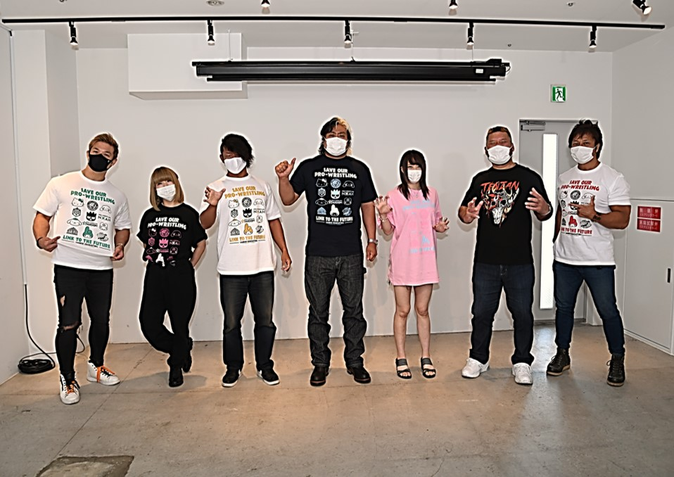 "Sanrio Launches ""Save Our Pro Wrestling"" in Support of 6 Japanese Companies 4"