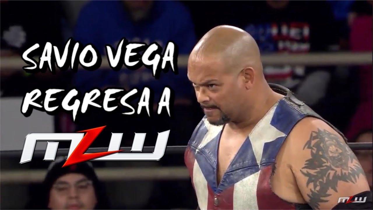 ¡Savio Vega de Regreso a MLW! 1