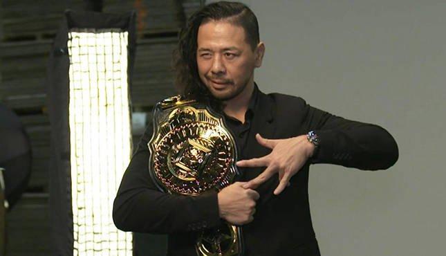 Braun Strowman vs Shinsuke Nakamura