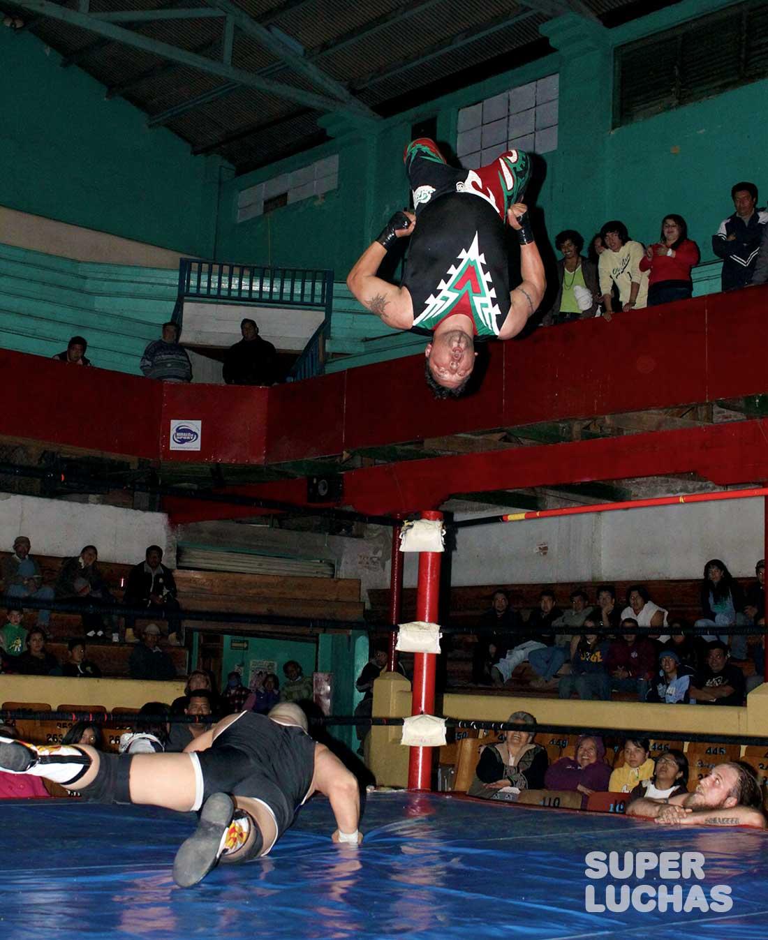 Super Crazy moonsault Lucha libre mexicana