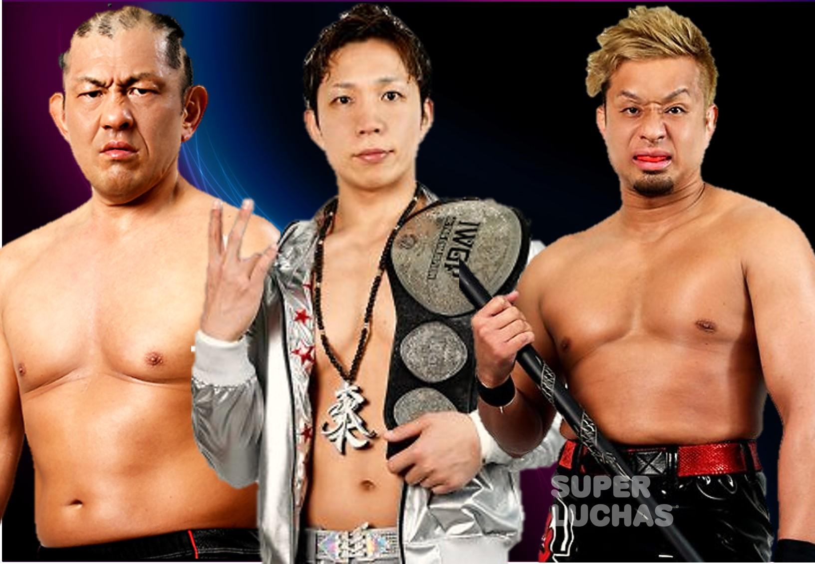 NJPW reportó tres bajas por problemas de salud 1
