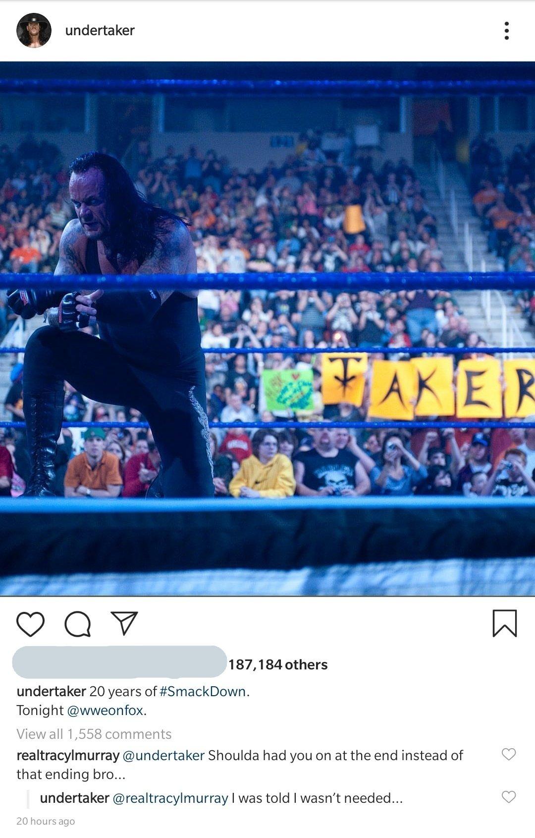 ¿Por qué Stone Cold y Undertaker no aparecieron en SmackDown? 1