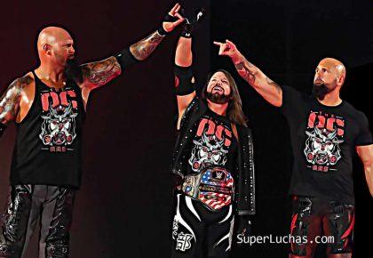 The OC AJ Styles Luke Gallows Karl Anderson