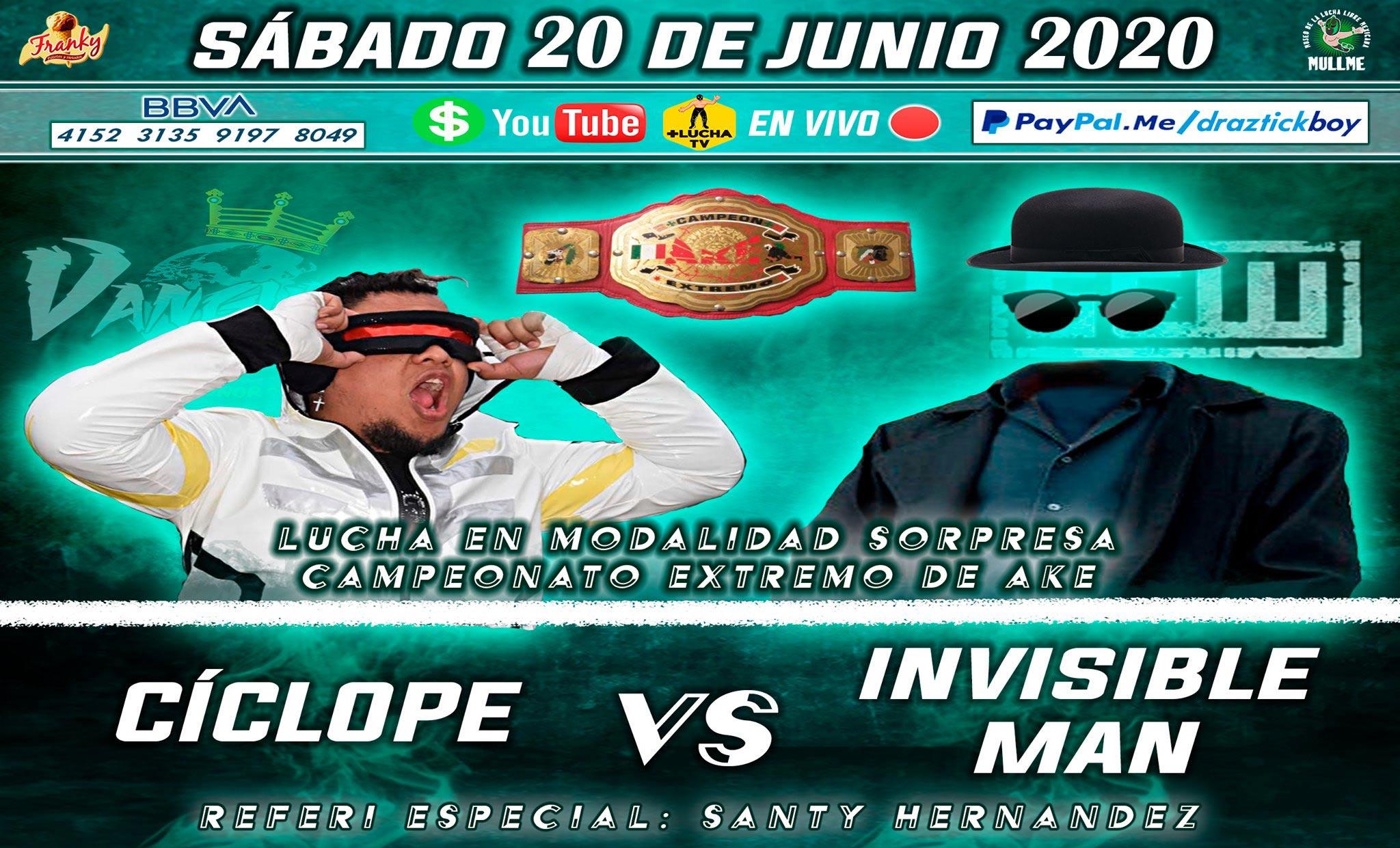 Tierra de Oportunidades: Cíclope vs El Hombre Invisible.