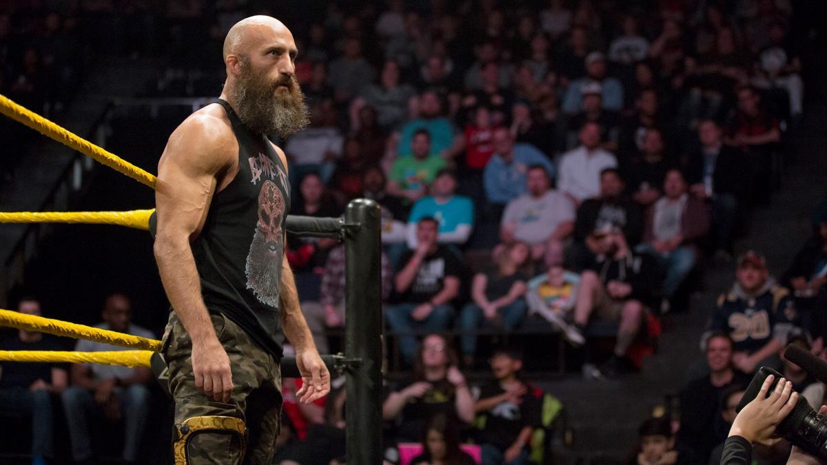 Randy Orton luchando en NXT