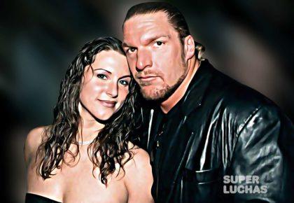 Triple H y Stephanie McMahon jovenes