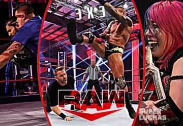 3 x 3: Lo mejor y lo peor de Raw 15 de junio 2020