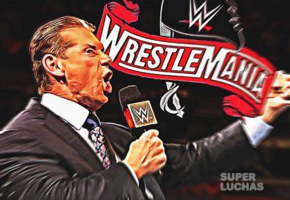 Vince McMahon WrestleMania 36