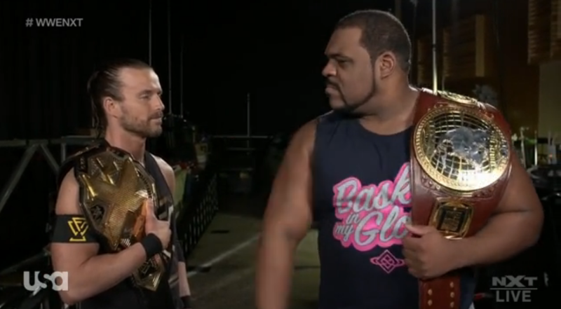 Keith Lee vs Finn Balor vs Johnny Gargano