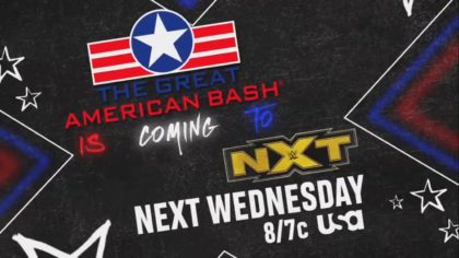 WWE The Great American Bash regresa como especial de WWE NXT (01/07/2020) / WWE