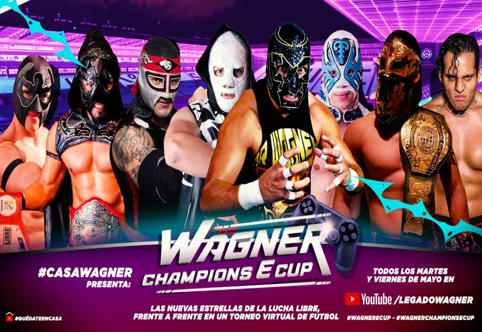 """In Quarantine, Son of Dr. Wagner Jr. organizes """"Wagner Champions E Cup"""" 5"""