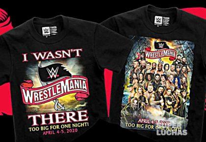 WrestleMania 36 camiseta