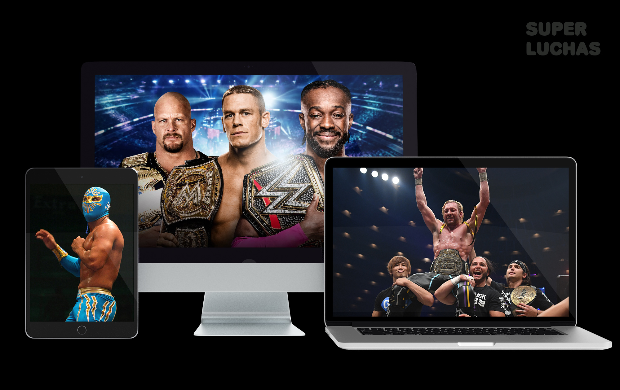 Wrestling and Lucha Libre online - Superluchas