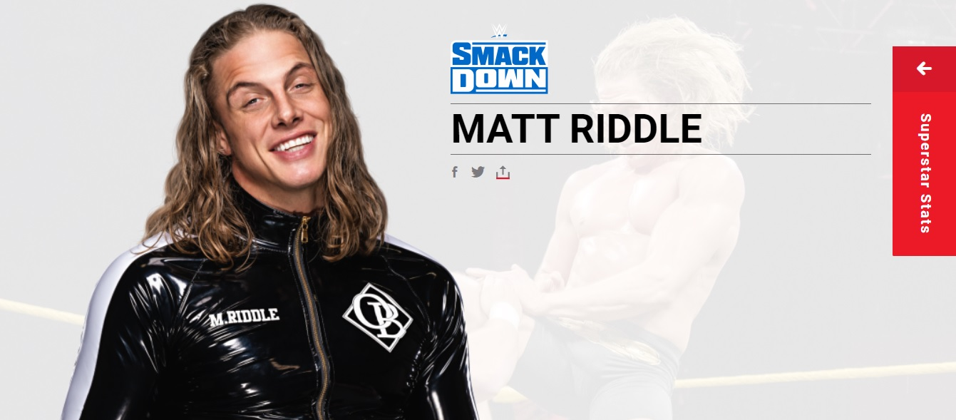 Matt Riddle ¿Cuándo debutará Matt Riddle en SmackDown?