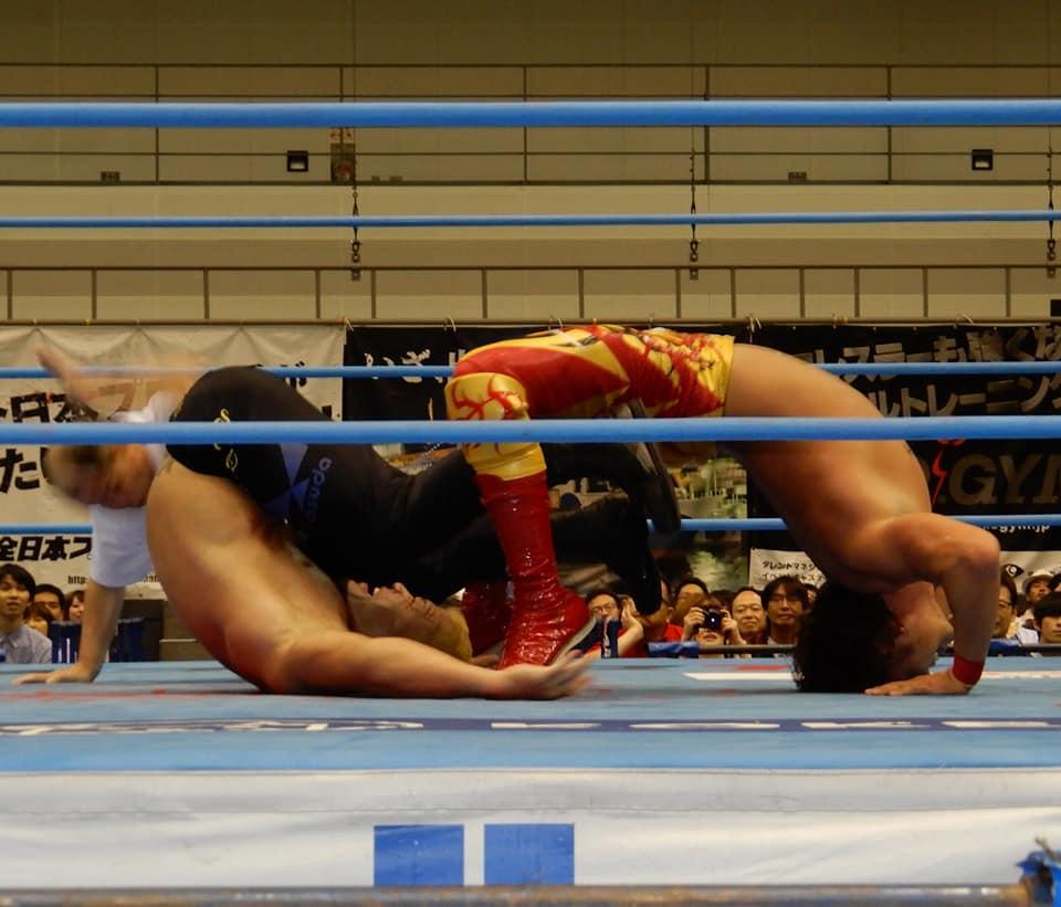 """AJPW: """"7th Royal Road Tournament"""" Gran Final - Jake Lee triunfa 1"""