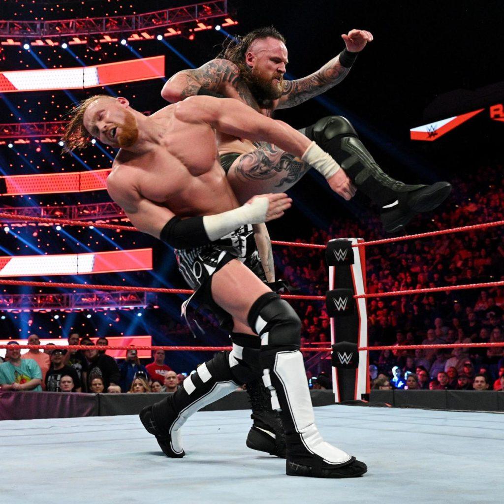 Murphy contre Aleister Black - WWE Raw