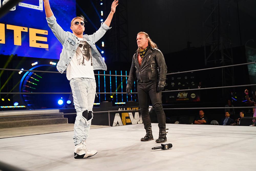 revancha entre Chris Jericho y Orange Cassidy