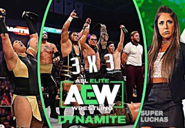 3x3 AEW Dynamite 12 de febrero 2020