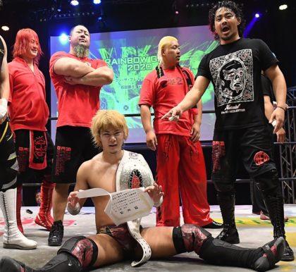 "Dragon Gate: ""Rainbow Gate 2020"" Kaito Ishida se mantiene campeón 1"