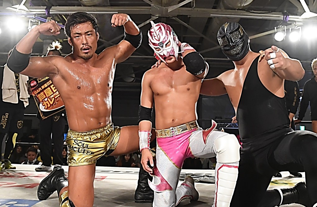Dragon Gate: Torneo de tercias en Kobe 3