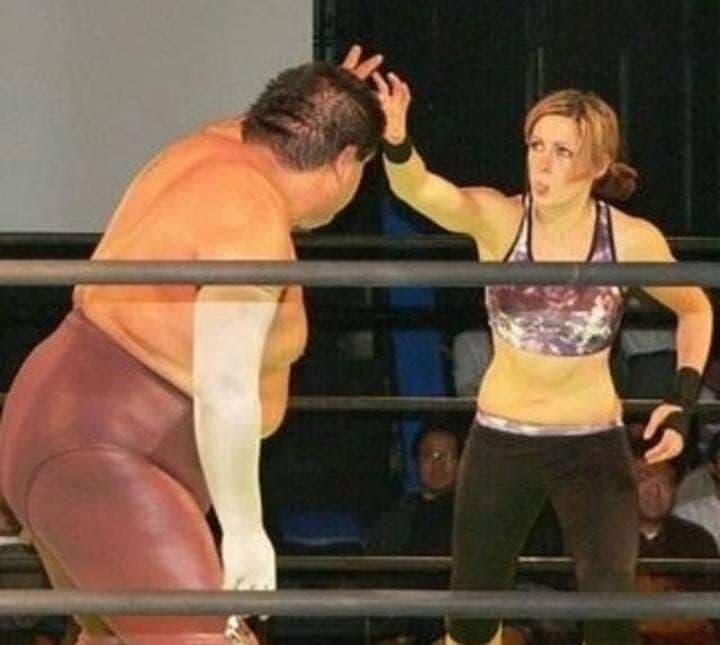 Becky Lynch y la lucha libre mexicana