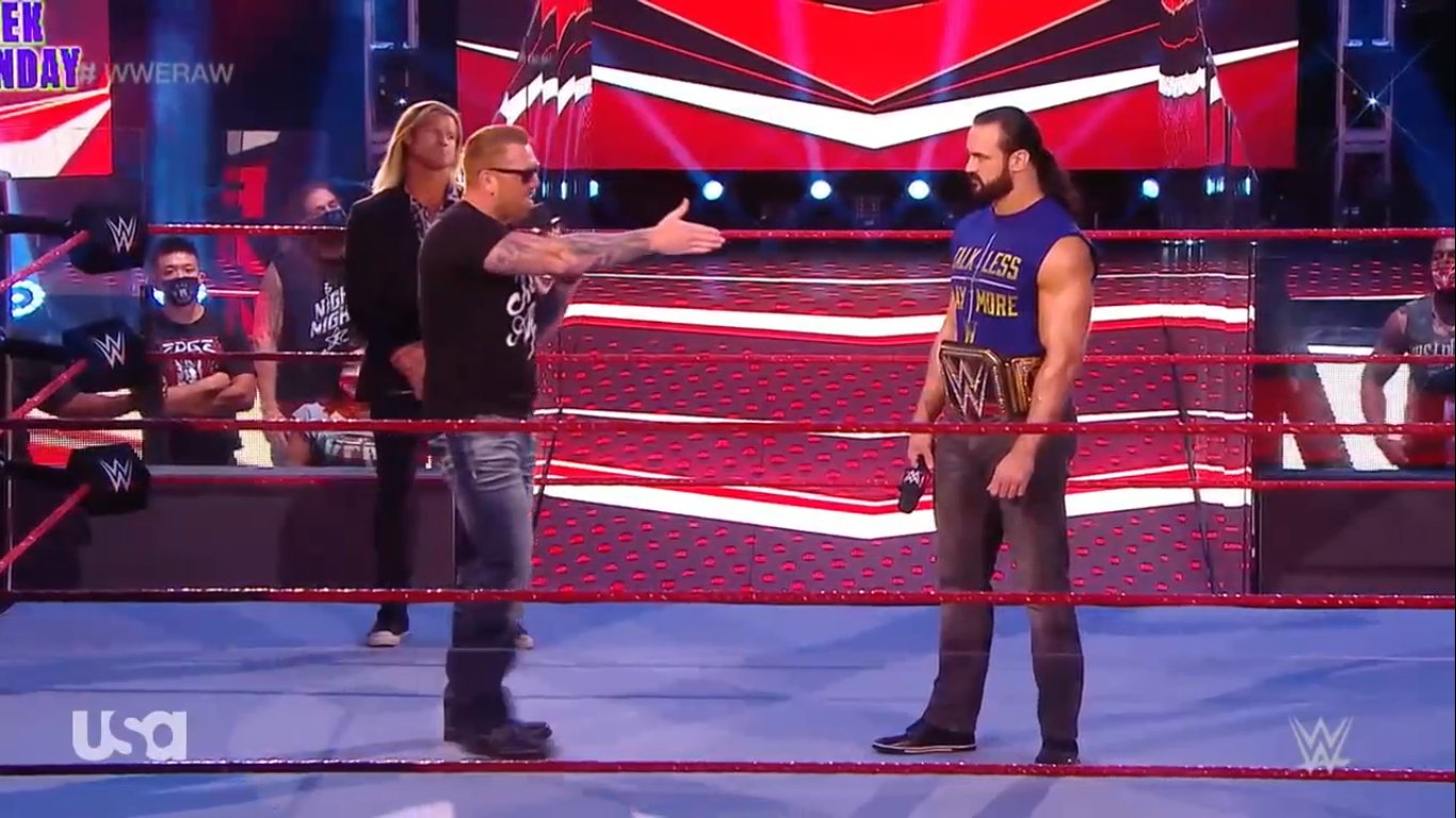 WWE RAW (July 6, 2020)   Live results   Champion Duel 4