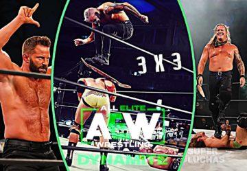 3 x 3: Lo mejor y lo peor de AEW Dynamite 29 de julio 2020