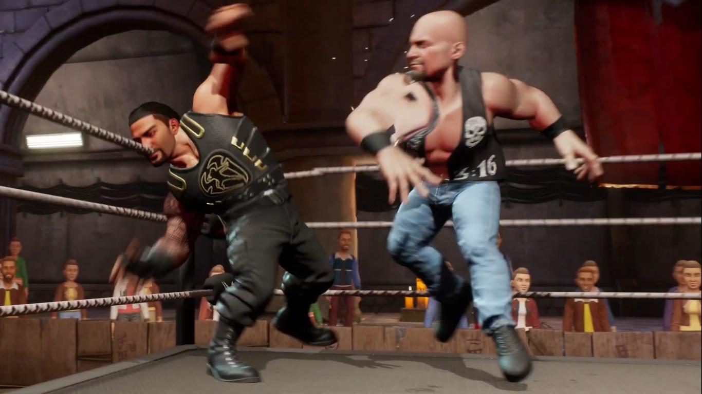 WWE 2K Battlegrounds es anunciado con un glitch