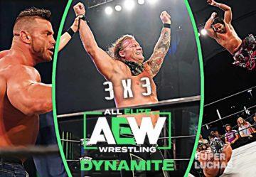 3 x 3: Lo mejor y lo peor de AEW Dynamite 8 de julio 2020