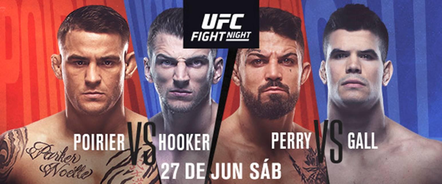 Todo listo para UFC Vegas 4: Dustin Poirier vs. Dan Hooker 3