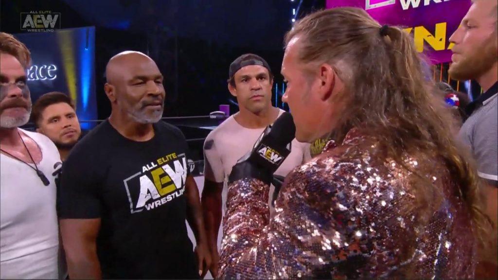 El regreso de Mike Tyson a AEW es inminente