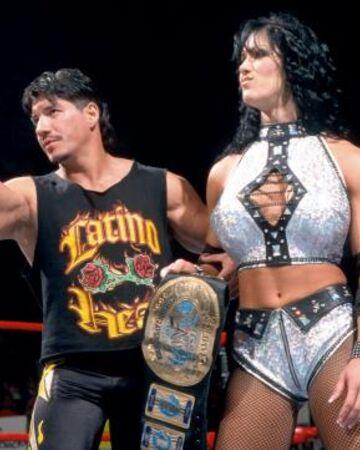 Eddie Guerrero y Chyna