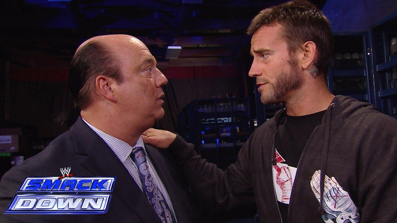 Paul Heyman y CM Punk en WWE SmackDown (05/07/2013) / WWE CM Punk contra el racismo