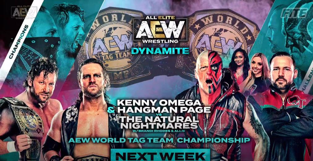 Kenny Omega y Hangman Adam Page vs Dustin Rhodes y QT Marshall 2 luchas titulares para AEW Dynamite la próxima semana