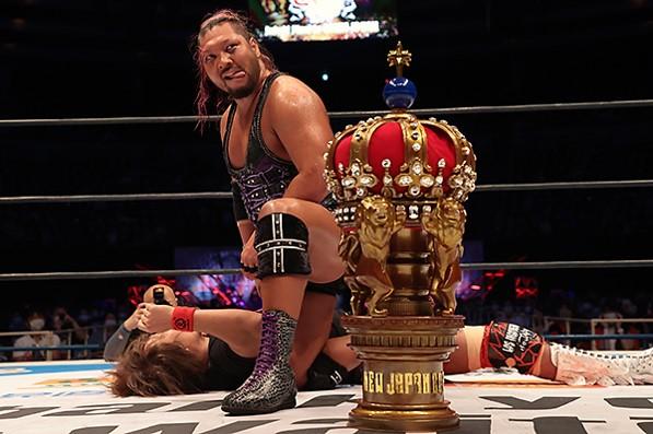 """NJPW: """"New Japan Cup 2020"""" Gran final, EVIL es el ganador 4"""