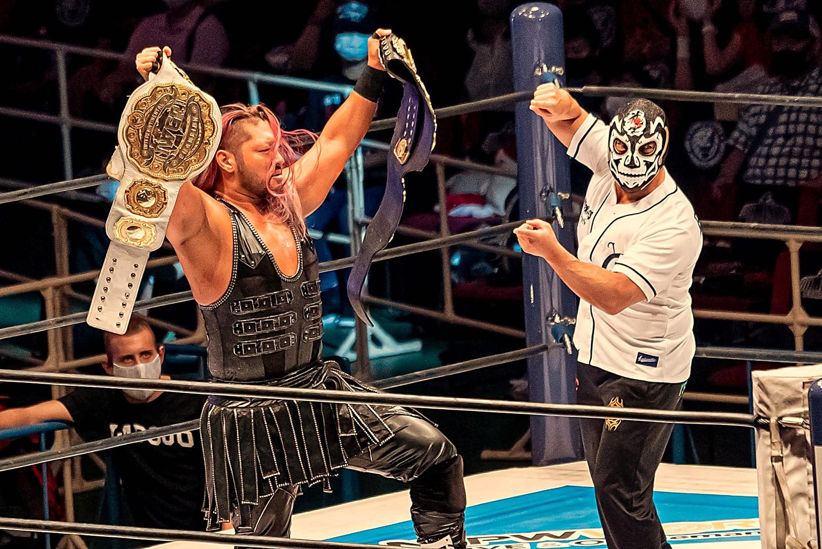 """NJPW: """"Dominion"""" EVIL campeón, inicia el reinado de la oscuridad 2"""