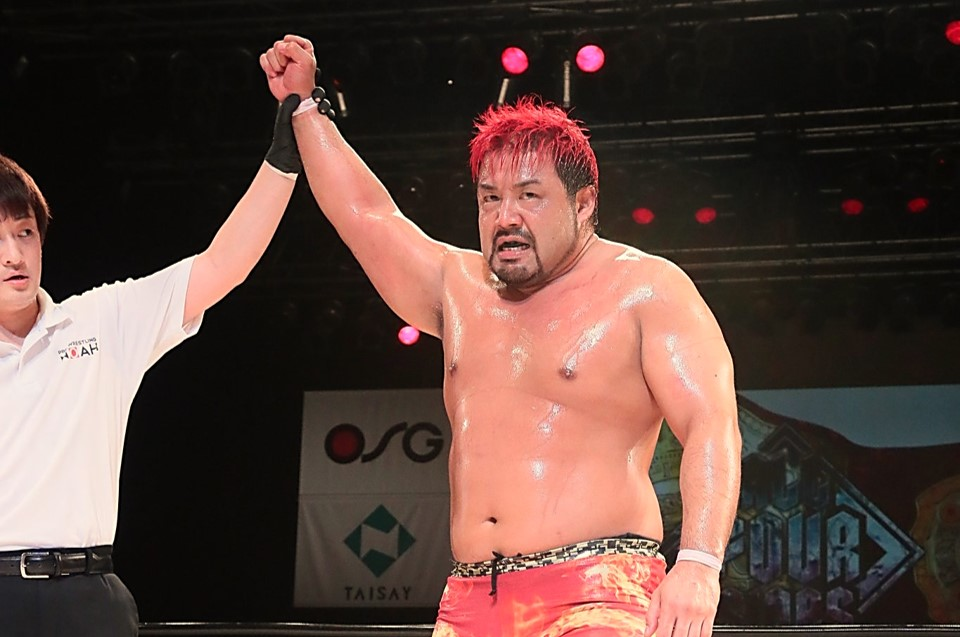 """NOAH: """"All Four Sides"""" Day 2 Manabu Soya is the challenger 4"""