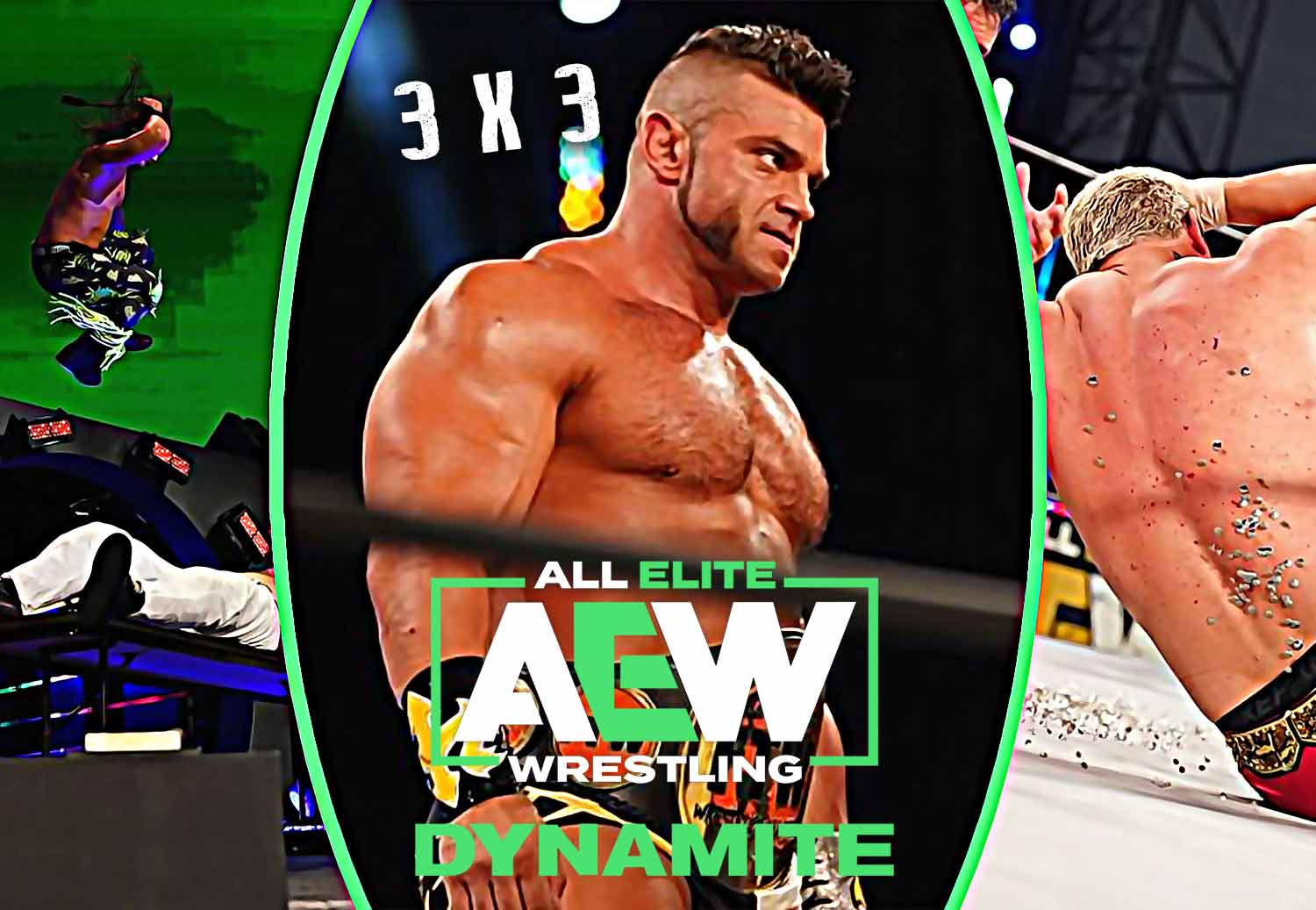 3x3: Best and Worst of AEW Dynamite July 22, 2020