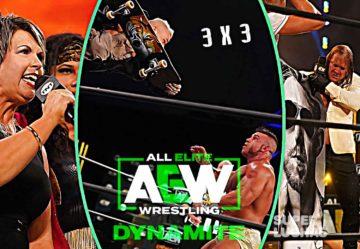 3 x 3: Lo mejor y lo peor de AEW Dynamite 15 de julio 2020