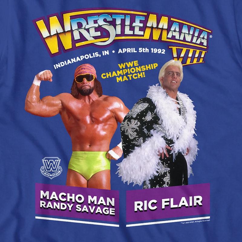 Ric Flair vs Randy Savage