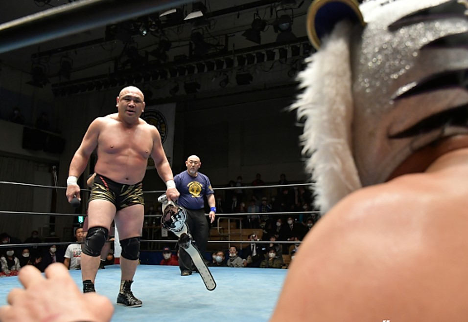 "RJPW: ""Strong Style Pro Wrestling Vol 5"" Kazuyuki Fujita beats Super Tiger 3"