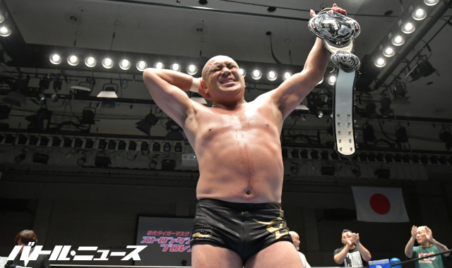 """RJPW: """"Strong Style Pro Wrestling Vol. 3"""" Fujita and Okamoto are crowned 5"""