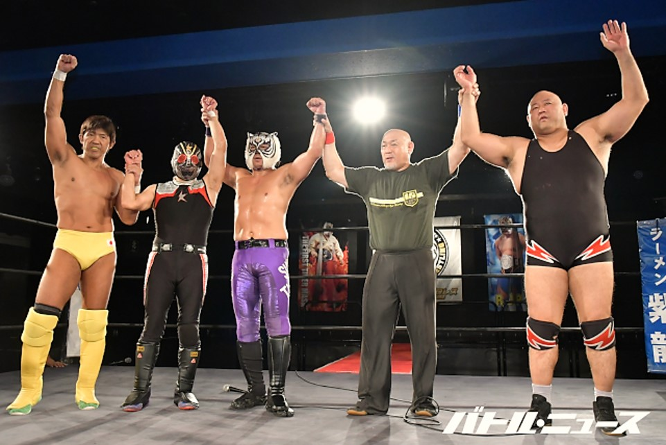 """RJPW: """"Strong Style Pro Wrestling Vol 6"""" Celebrating 15 years 1"""