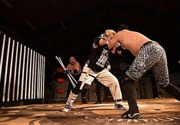 """BJW: """"Samurai TV BJW TV Match"""" Ito y Fujita desatan la violencia 5"""