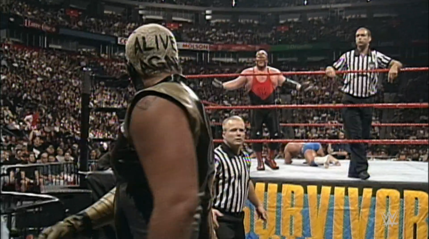 Traición en Survivor Series 1997