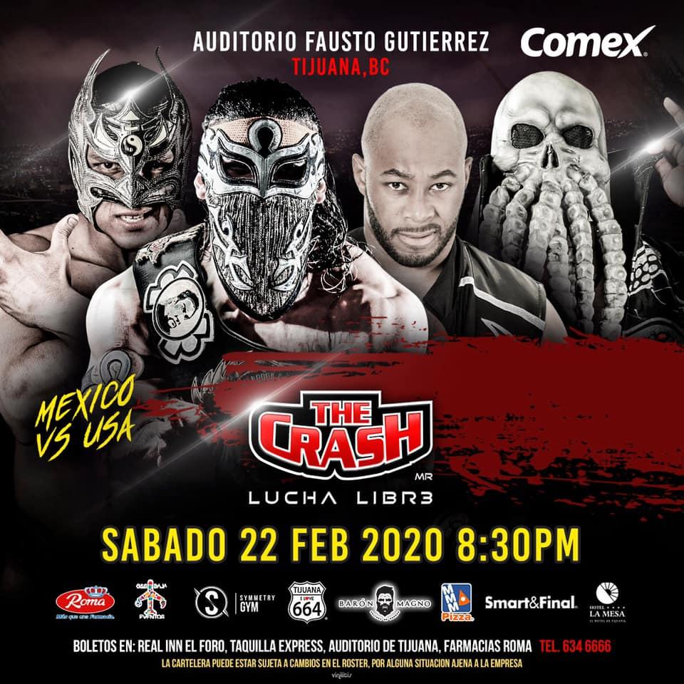 The Crash: Lucha en Jaula, Rebelión Amarilla vs. Traumas 3