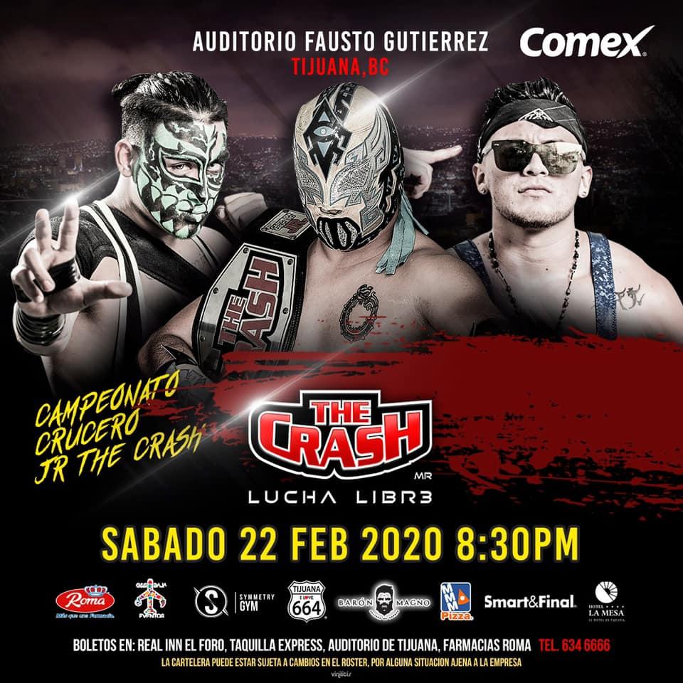 The Crash: Lucha en Jaula, Rebelión Amarilla vs. Traumas 6