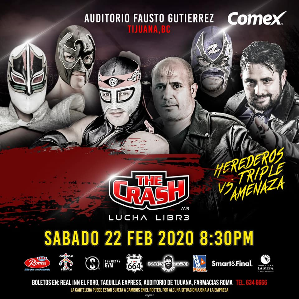 The Crash: Lucha en Jaula, Rebelión Amarilla vs. Traumas 5