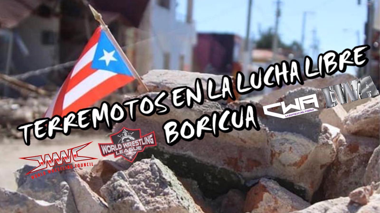 VIDEO: Earthquakes in Lucha Libre Boricua 3