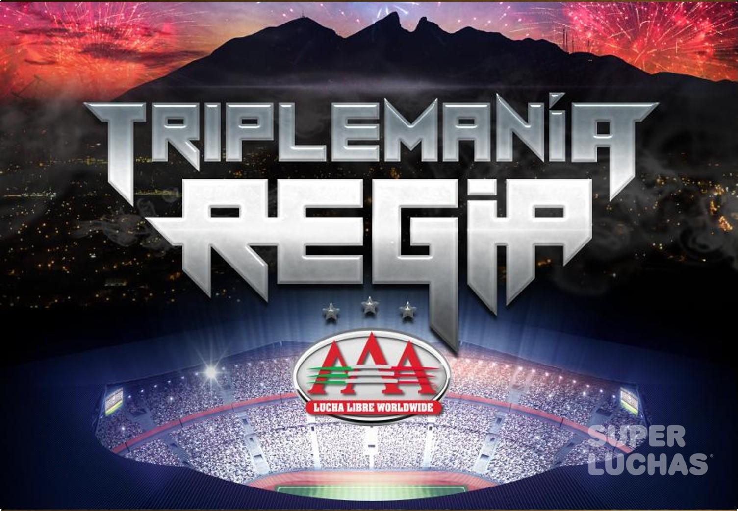 AAA: Dragon Lee y Rush a Triplemanía Regia 1